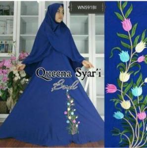 Busana Muslim Terbaru Dan Cantik Queena Syar'i-4