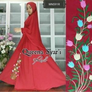Busana Muslim Terbaru Dan Cantik queena syar'i-5
