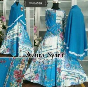 Baju Gamis Katun Syar'i Muslimah Azura Syar'i-2