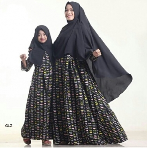 Busana Muslim Anak Rudholvo Kids Black size L