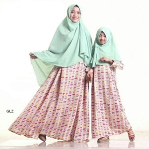 Busana Muslim Anak Rudholvo kids (cream) size L