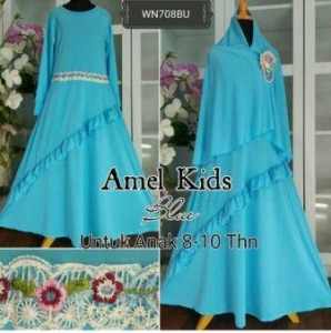Baju Muslim Anak Cantik Amel Kids Tosca
