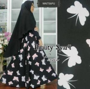 Gamis Jersey Beauty-1 Syar'i Trendy