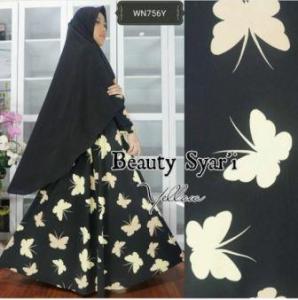 Gamis Jersey Beauty-3 Syar'i Trendy