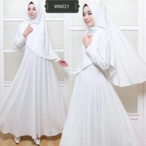 Busana Muslim Wanita Untuk Umroh Fitri Syar'i
