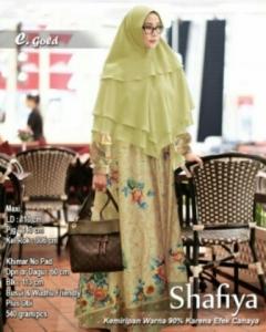 Baju Gamis Terbaru Keinian Shafiya Syar'i W