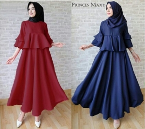 Busana Muslim Modern Cantik Ukuran Kecil Princess-3 Bahan Balotelli
