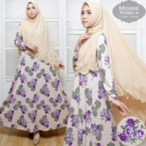 Busana Muslim Wanita Rebeca Syar'i-1 Ba