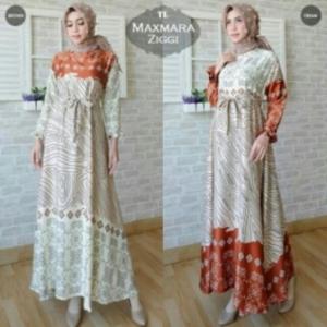 Supplier Baju Muslim Modern Ziggi Bahan Maxmara