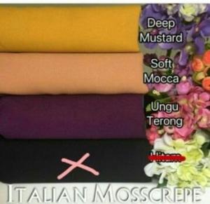 Jual Kain Meteran Online Italian Moss Crepe_2