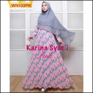 Gamis Muslimah Cantik Karina-Syar'i- 2