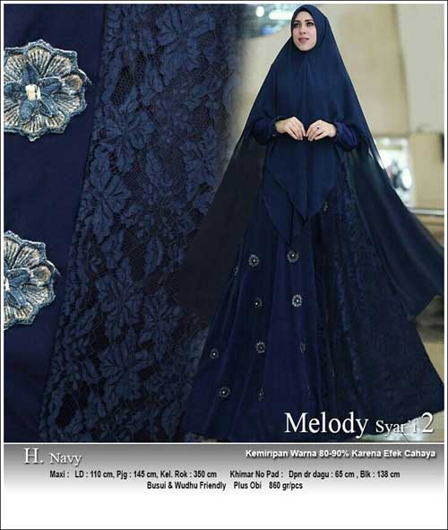 Supplier Baju Gamis Pesta Syar 39 I Bahan Ceruti Premium