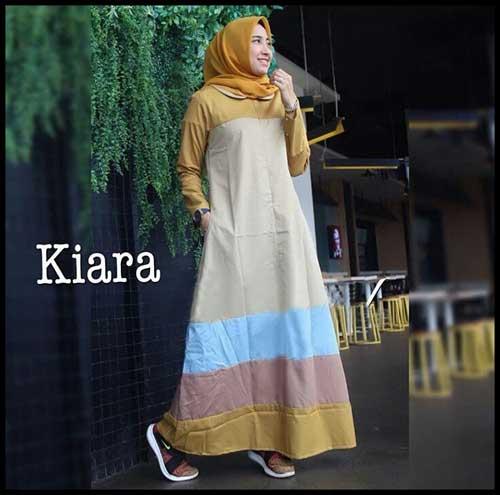 Online Shop Baju Hijabers Tampil Modern Bahan Katun