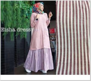 Baju Gamis Murah Dan Cantik Eisha Maxi Bahan Linen Rami