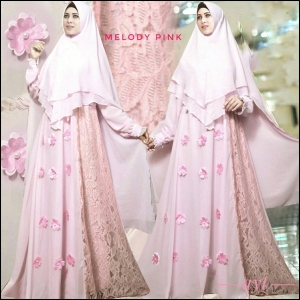 Busana Gamis Premium Melody Syar'i_2