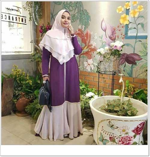 Jual Baju Gamis Cantik Shabiya Syar 39 I Bahan Wollycrepe