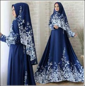 Jual Baju Muslim Kanzia Syar'i Bahan Maxmara