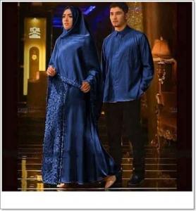 Baju Muslim Agnia Couple Anggun Bahan maxmara