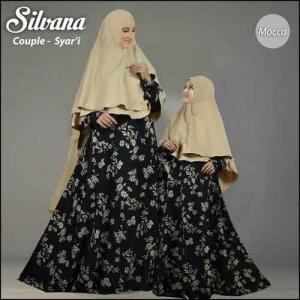 Gamis Ibu dan Anak Silvana-Syar'i Bahan Monalisa