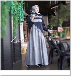 Supplier Baju Gamis Ziara Maxi Bahan Katun Zara dan Ima Platinum