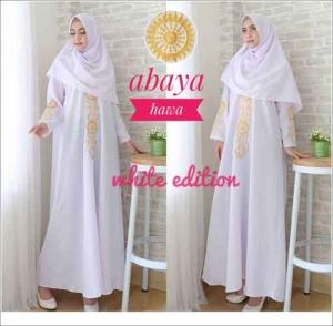 Jual Grosir Busana Muslim Modern Abaya Hawa Bahan woolpeach Premium