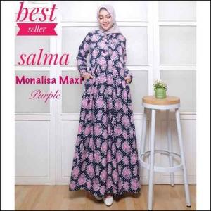 Jual Gamis Murah Salma Dress Bahan Monalisa