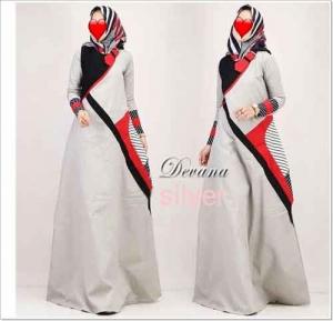 Jual Baju Gamis Katun Termurah Devana Dress Bahan Ima Platinum