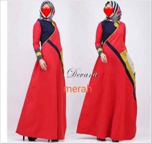 Jual Baju Gamis Katun Termurah DevanaDress Bahan Ima Platinum