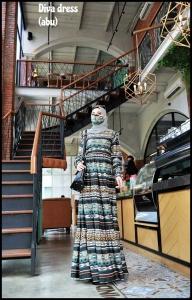 Baju Gamis Dewasa Modis Diva Dress warna Abu Ukuran Kecil