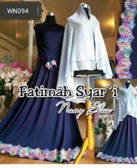 Gamis Syari Busui Cantik Fatimah Syar'i