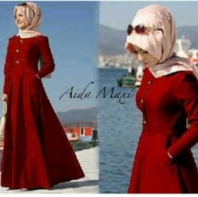 Baju Gamis Modern Cantik Aida Maxi