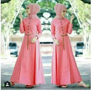 Baju Gamis Muslim Modern 2016 Amel