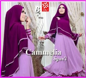 Gamis Cantik dan Anggun Camelia Syar'i-2