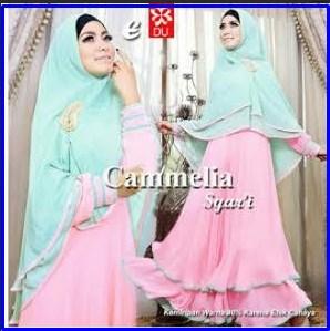 Gamis Cantik dan Anggun Camelia Syar'i