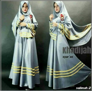 Gamis Murah Khadijah Syar'i