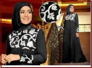 Gamis Pesta Murah dan Anggun Elegant Clasic