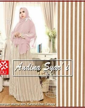 Gamis Terbaru Trendy dan Elegant Andina Syar'i-3