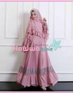 Baju Gamis Pesta Murah Hawwa Aiwa-1