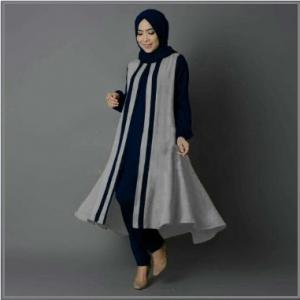 Busana Muslim Modern Melva Tunik - 6