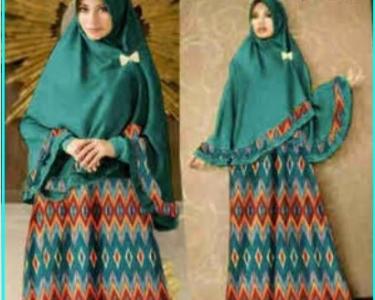 Gamis Katun Silk Sutera