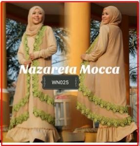 Gamis Modern Syar'i Nazareta-1