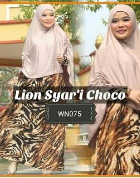 Gamis Muslimah Cantik Bahan Jersey Lion Syar'i