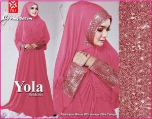 Baju Muslim Modern Bahan Spandex Yola Syar'i