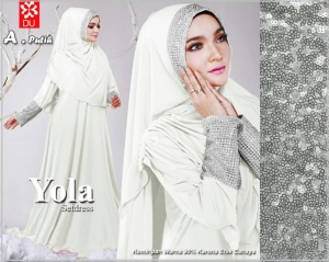 Baju Muslim murah Bahan Spandex Yola Syar'i-2