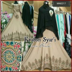 Gamis Batik Syar'i Kraton Syar'i