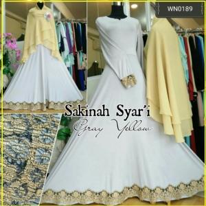 Gamis Syar'i Online Terbaru Sakinah Syar'i-1
