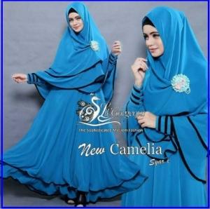 Gamis Terbaru New Camelia Syar'i dan Termurah-3
