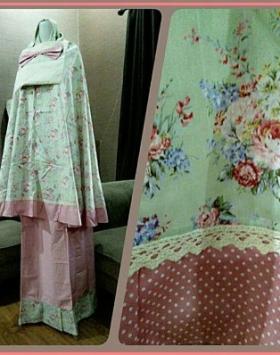 Mukena Katun Jepang Terbaru Murah Sakinah Pink