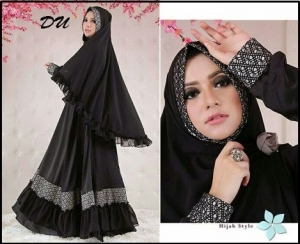 Baju Gamis Hasanah Syar'i Cantik Dan Elegan