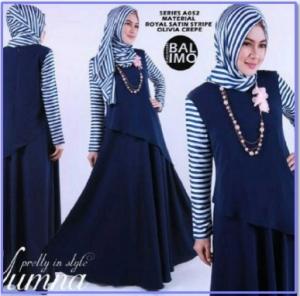 Baju Muslim Wanita Murah Yumna-1